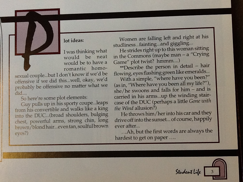 Plot Summary for 1994 Yearbook