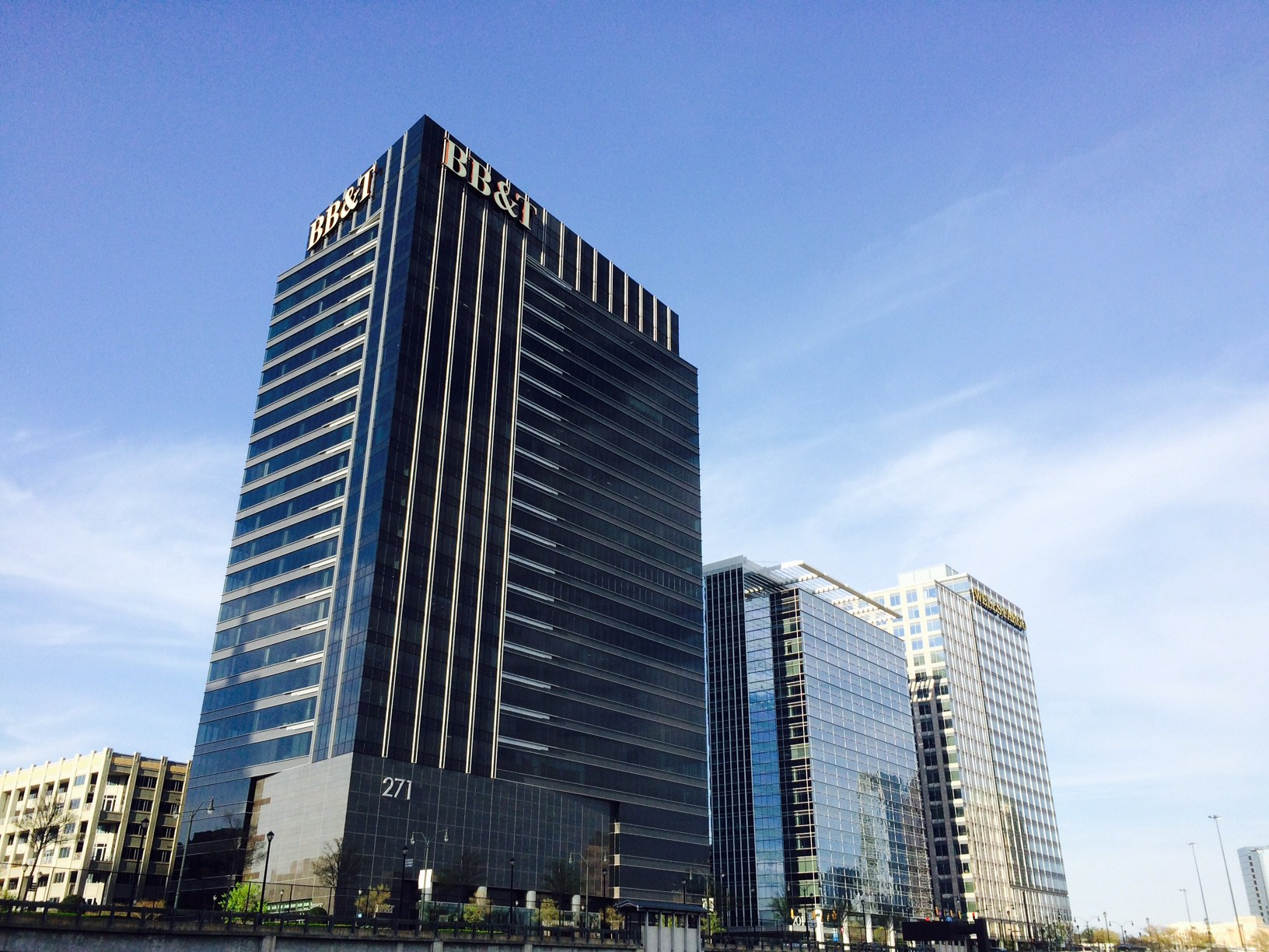 LED certified BB&T building in Atlantic Station