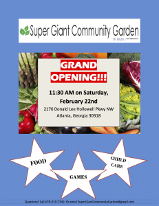 Grand Opening Announcement Flyer GO