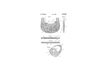 Cooking jacket patent graphic