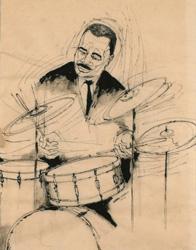Drummer Man, Benny Andrews