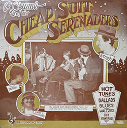 R. Crumb and his Cheap Suit Serenaders LP