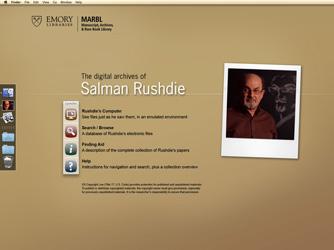 Salman Rushdie Workstation