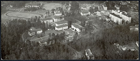 Aerial View of Emory Campus, 1960