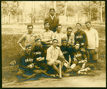 Emory College junior class baseball team, 1906