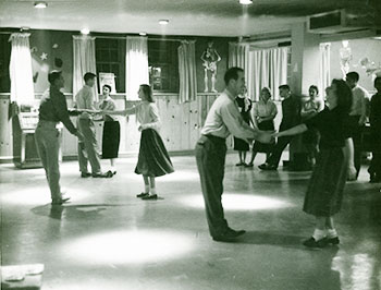 Sock Hop at Dooley's Den, circa 1950s