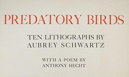 Predatory Birds Cover Page