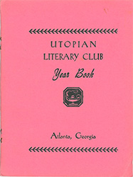 Utopian Literary Club Yearbook