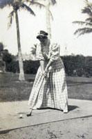Mrs. Rule Golfing