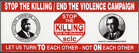 Stop the Killing/End the Violence