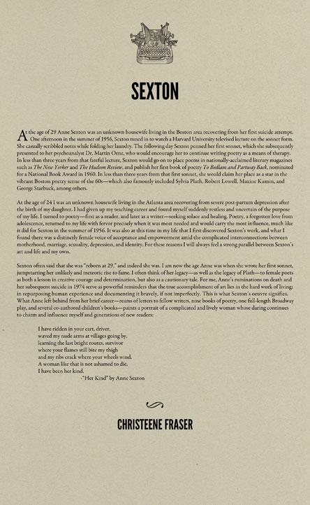 Anne sexton essay