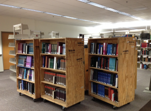 Learning Commons Renovation includes moving the Reference Collection to a new part of Level 2