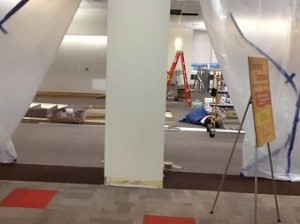 Another peak behind the curtain...Learning Commons Renovation