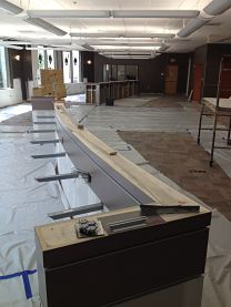 NextGen LC a. New counter under construction