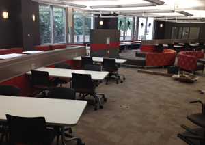 NextGen Learning Commons - a pick behind the curtian