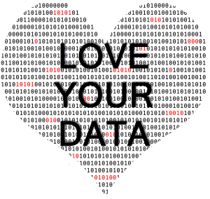 love your data heart