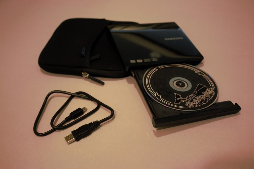 A USB CD/DVD drive