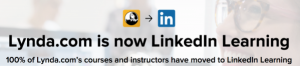 Lynda.com is now LinkedIn Learning