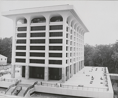 Woodruff Library in 1969.