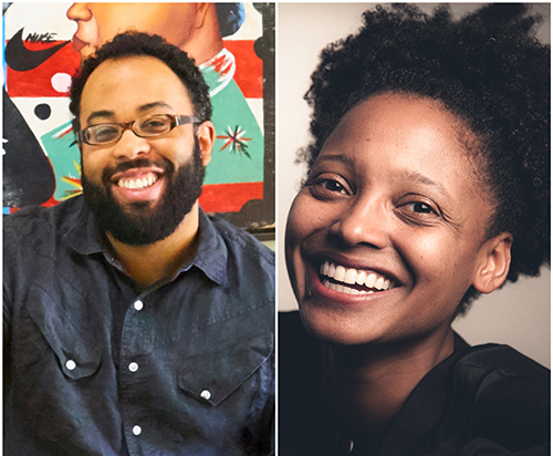 Kevin Young and Tracy K. Smith