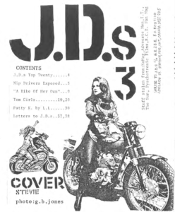 Screenshot of JDs zine
