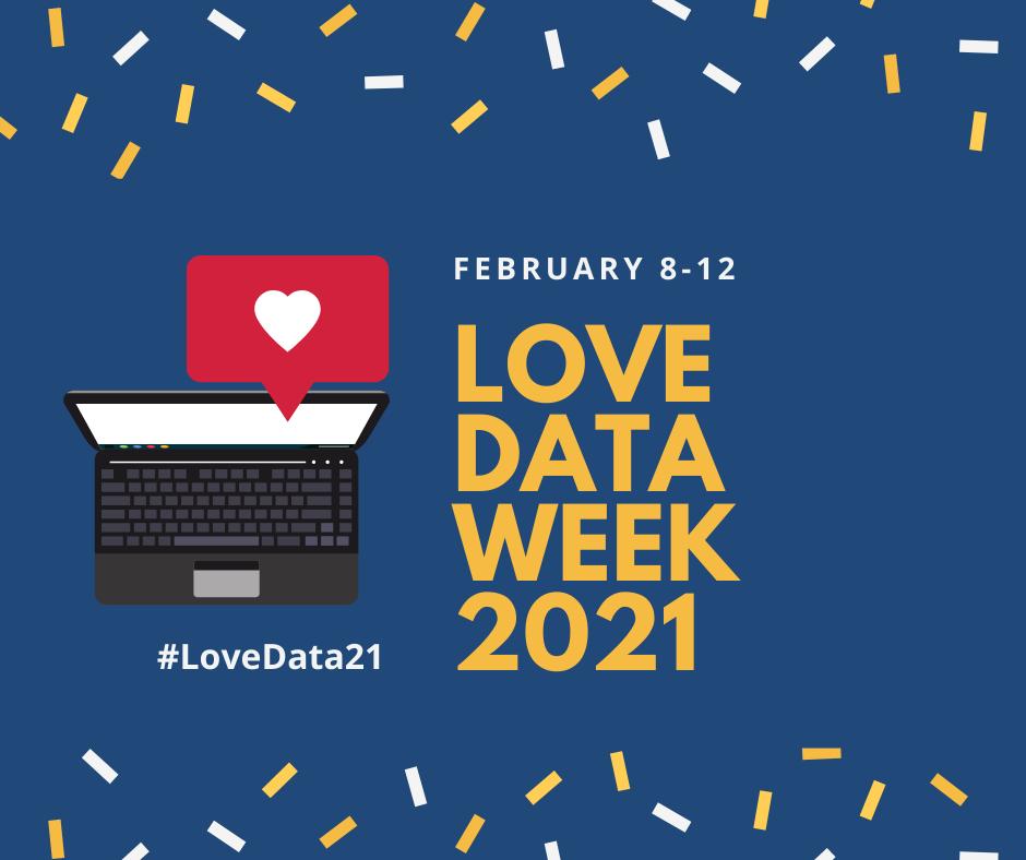 Love Data Week banner