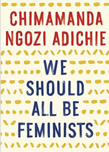 Book cover, We Should All Be Feminists