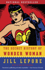 Book cover, Secret History of Wonder Woman