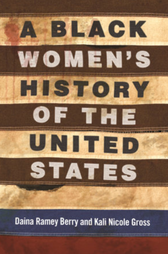 Book Cover, Black Women's History of the United States