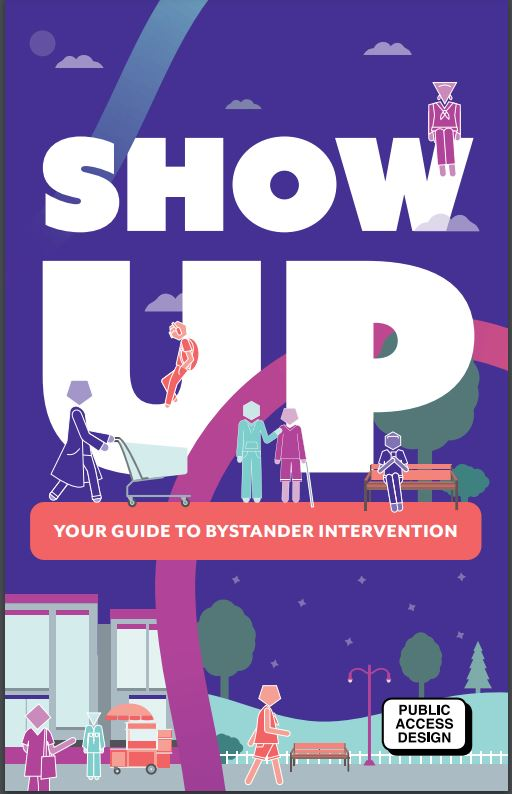"""Cover of """"Show Up: Your Guide to Bystander Intervention"""""""