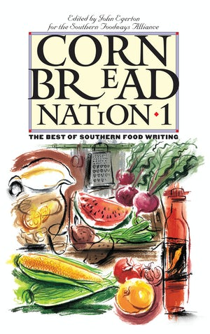 """Cover of """"Cornbread Nation 1"""" cookbook"""