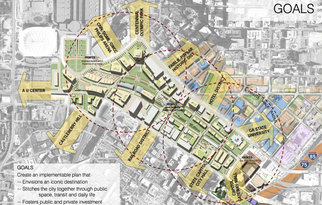 The Proposed New Underground Atlanta