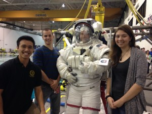 Astronaut Wiseman_Neutral Bouyancy Lab