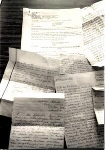 Vidali Photo 2 Kabusha original program script and letters September 1989