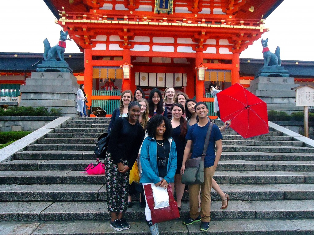 At Fushimi Inari Taisha Credit: McGehee