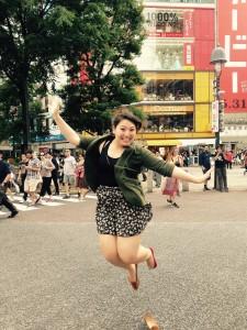 Kim in Tokyo Credit: Henkind