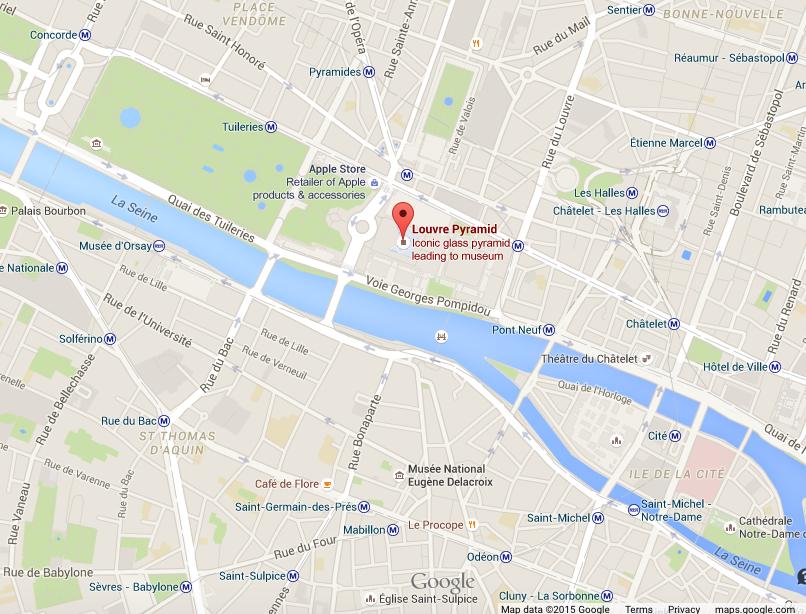 Logographs and the louvre nbb in paris - Location intergenerationnelle paris ...
