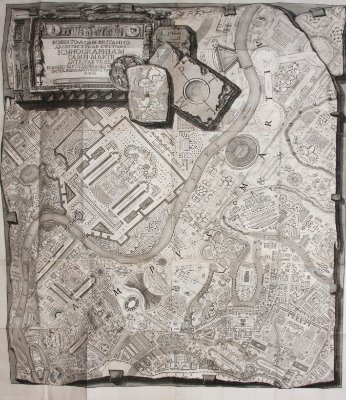Woodruff Library Blog Marbl Acquires Rare Piranesi Folio